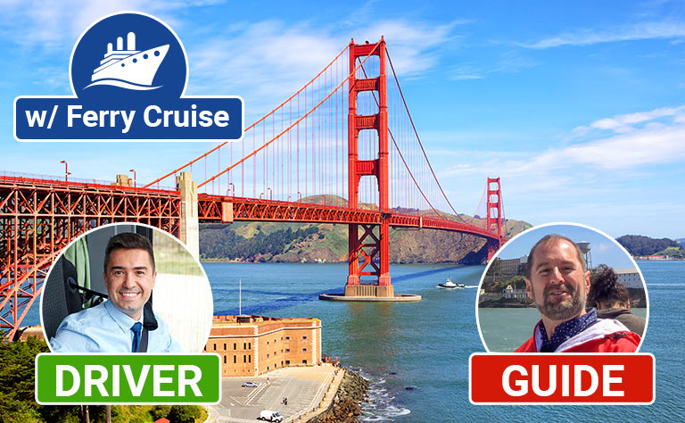 San Francisco Tour with driver and guide images